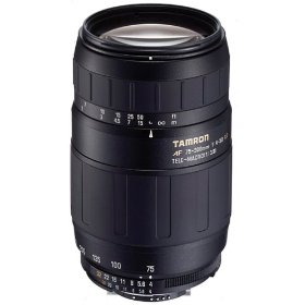 Tamron AF 75-300mm f/4.0-5.6 LD for Pentax Digital SLR Cameras
