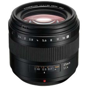Panasonic 25mm f/1.4 Four Thirds Lens for Panasonic Digital SLR Cameras