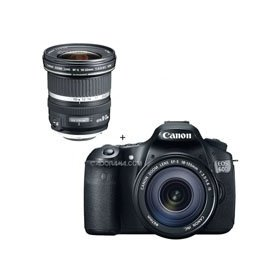Canon EOS 60D Digital SLR Camera / Lens Kit. With EF-S 18-135mm f/3.5-5.6 IS Lens & EF-S 10mm - 22mm f/3.5-4.5 USM Autofocus Zoom Lens