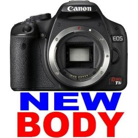 NEW! CANON EOS Rebel T1i/500D 15.1MP Digital Camera ~BODY ONLY~