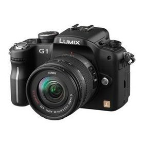 Lumix DMC-G1 Digital SLR Camera (Black) with 14-45mm Lens