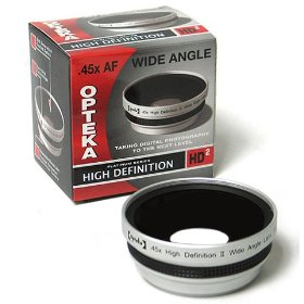 Opteka .45x HD? Wide Angle Lens for Kodak EasyShare Z612, Z712, Z812, Z1012, & Z8612 IS Digital Camera