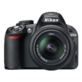 Nikon D3100 14.2MP Digital SLR Camera with 18-55mm f/3.5-5.6 VR & 55-200 f/4-5.6G IF-ED AF-S DX VR Nikkor Zoom Lenses