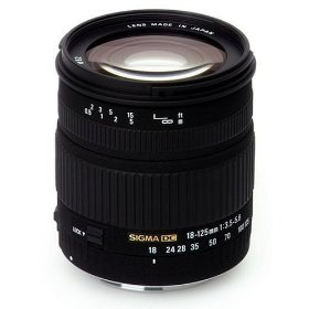 Sigma 18-125mm f/3.5-5.6 DC IF Aspherical Zoom Lens for Canon Digital SLR Cameras