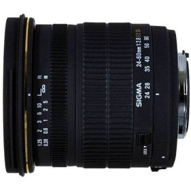 Sigma 24-60mm f/2.8 EX DG IF Aspherical Wide Angle Zoom Lens for Canon SLR Cameras