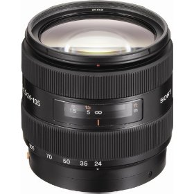 Sony SAL-24105 24-105mm f/3.5-4.5 Aspherical Zoom Lens for Sony Alpha Digital SLR Camera