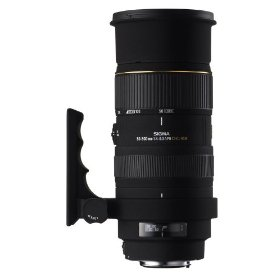 Sigma 50-500mm f/4-6.3 EX DG HSM APO RF Telephoto Zoom Lens for Canon SLR Cameras
