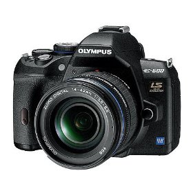 Olympus Evolt E-600 Digital SLR Camera w/ 14-42mm Lens (Camera & Lens Refurbished by Olympus America)