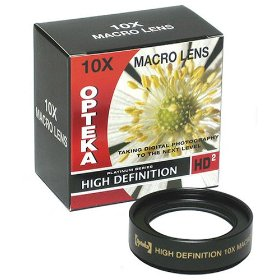 Opteka 10x HD� Professional Macro Lens for Kodak EasyShare P880 Digital Camera