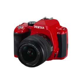 Pentax K-r 12.4 MP Digital SLR Camera with 3.0-Inch LCD and 18-55mm f/3.5-5.6 Lens (Red)