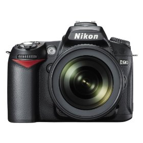 Nikon D90 12.3MP DX-Format CMOS Digital SLR Camera with 18-105mm f/3.5-5.6G ED AF-S VR DX Nikkor Zoom Lens