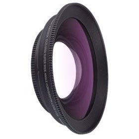 Raynox DCR-5000, 0.5x Super Wide-Angle Conversion Lens for Camcorders & Digital Still Cameras with a 52mm Filter Thread.