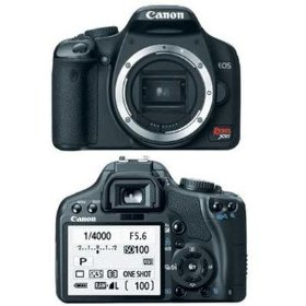 Canon EOS Rebel XSi - Digital camera - SLR - 12.2 Mpix - body only - supported memory: MMC, SD, SDHC - black