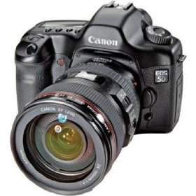 Canon EOS 5D - Digital camera - SLR - 12.8 Mpix - Canon EF 24-105mm IS lens - optical zoom: 4.3 x - supported memory: CF, Microdrive