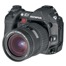 Olympus E-1 - Digital camera - SLR - 5.0 Mpix - body only - supported memory: CF, Microdrive