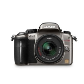 Panasonic Lumix DMC-GH2 16.05 MP Live MOS Interchangeable Lens Camera with 3-inch Free-Angle Touch Screen LCD and 14-42mm Hybrid Lens (Silver)