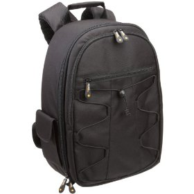 AmazonBasics Backpack for SLR Cameras and Accessories (Black)