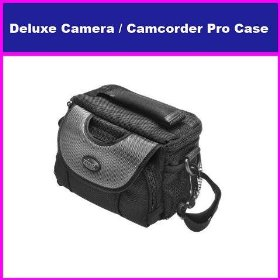 Deluxe Digital Camera/Camcorder Case for The Fuji Finepix Fujifilm S9100, S9500, S9000, S700, S5700, S6100, S9500 S9100, S1800, S2550HD