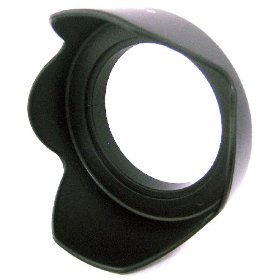 Zeikos ZE-HLH58 58mm Hard Rubber Lens Hood