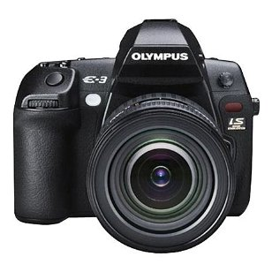 Olympus Evolt E-3 10.1MP Digital SLR Camera with Mechanical Image Stabilization (Body Only)
