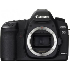 Canon EOS 5D Mark II 21.1MP Full Frame CMOS Digital SLR Camera (Canon USA) and WSP Mini Tripod & Cleaning Kit (Body)