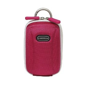 Canon PowerShot SD1200IS 10 MP Digital Camera CaseCrown Travel Hard Shell Case (Pink)