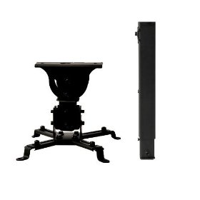 VideoSecu Universal LCD/DLP Projector Vaulted Ceiling Mount Bracket Black with 25.6
