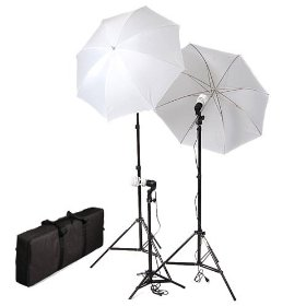 Cowboystudio 3 Photography Video Photo Portrait Studio Umbrella Continuous Lighting Kit WITH THREE perfect day light CFL bulb 5500K & UMBRELLAS CASE FOR PRODUCT, PORTRAIT, & VIDEO SHOOT