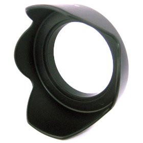 52MM TULIP FLOWER HARD LENS HOOD FOR DIGITAL CAMERAS