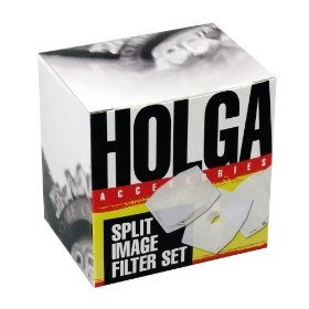 Holga 150120 Split Image Filter Lens Set