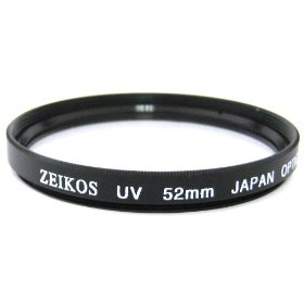 Zeikos ZE-UV52 52mm Multi-Coated UV Filter