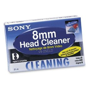 Sony V825CLD Camcorder Cleaning Cassette 8mm