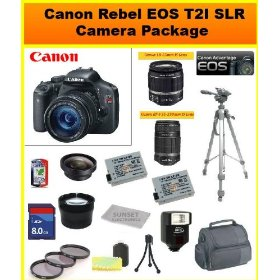 Canon EOS Rebel T2i SLR Digital Camera Kit with Canon 18-55mm IS Lens