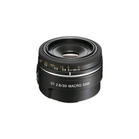 Sony SAL30M28 30mm f/2.8 Lens for Alpha Digital SLR Cameras