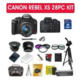 Canon EOS Rebel XS 1000d Digital Slr Camera Kit