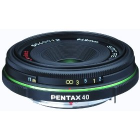 Pentax DA 40mm f/2.8 Ultra Compact Lens for Pentax and Samsung Digital SLR Cameras