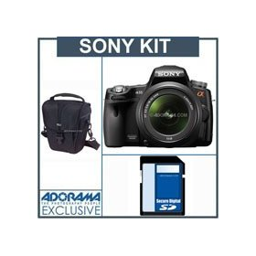 Sony SLT-A33L Translucent Mirror a33 DSLR Camera Kit,with 18-55mm Zoom Lens, 8GB SD Memory Card, Camera Case,