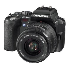 Olympus Evolt E500 8MP Digital SLR with Zuiko 14-45mm f/3.5-5.6 Digital SLR Lens