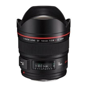 Canon EF 14mm f/2.8L II USM Ultra-Wide Angle Lens for Canon Digital SLR Cameras