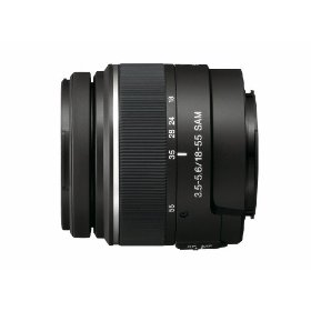 Sony 18-55mm f/3.5-5.6 SAM DT Standard Zoom Lens for Sony Alpha Digital SLR Cameras