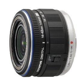 Olympus 14-42mm f/3.5-5.6 Zuiko Digital Zoom Lens (Black)