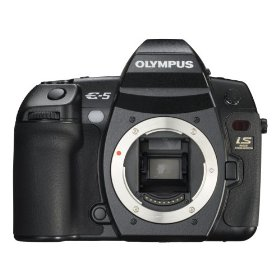 Olympus E-5 12.3MP Digital SLR with 3 inch LCD (Body Only)