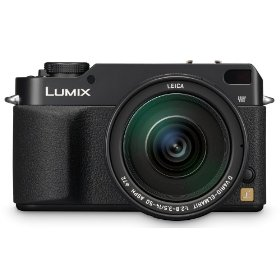 Panasonic DMC-L1 7.5MP Digital SLR Camera with Leica 14-50mm Mega O.I.S. Lens