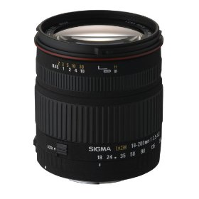 Sigma 18-200mm f/3.5-6.3 DC Lens for Minolta and Sony Digital SLR Cameras