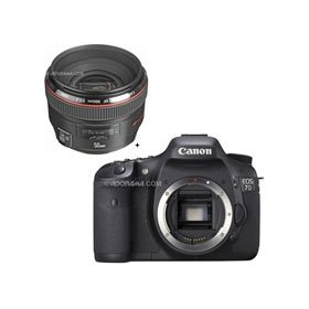Canon EOS-7D Digital SLR Camera with EF 50mm f/1.2L USM