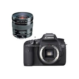 Canon EOS-7D Digital SLR Camera with Canon EF 20mm f/2.8 USM AutoFocus Ultra Wide Angle