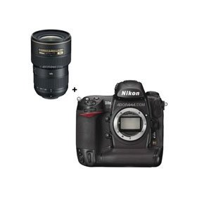Nikon D3X Digital SLR 24.5 Megapixel Camera with Nikon 16mm - 35mm f/4.0 AF-S ED (VR-II) Lens - USA Warranty