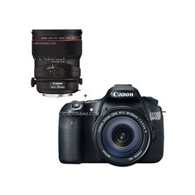 Canon EOS 60D Digital SLR Camera / Lens Kit. With EF 18-135mm f/3.5-5.6 IS USM Lens & TS-E 24mm f/3.5L II Tilt-Shift Lens