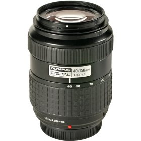 Olympus 40-150mm f/3.5-4.5 Zuiko Digital Zoom Lens for E1, E300 & E500 Cameras