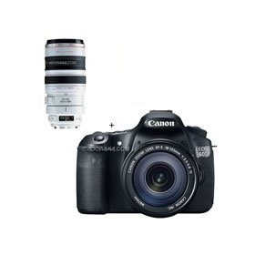 Canon EOS 60D Digital SLR Camera / Lens Kit. With EF-S 18-135mm f/3.5-5.6 IS Lens & EF 100-400mm f/4.5-5.6L USM AutoFocus Image Stabilized